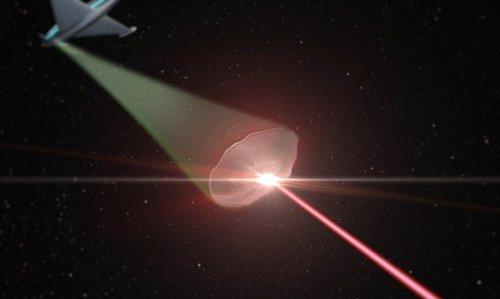 Защитный лазерный щит