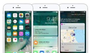 разблокировка в iOS 10