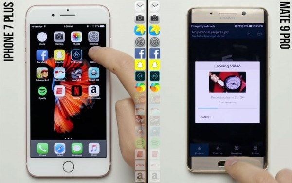 iPhone 7 Plus против Huawei Mate 9 Pro