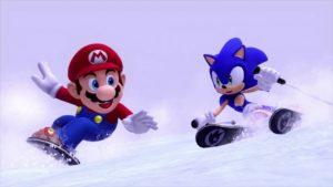 Марио и Соник в Сочи