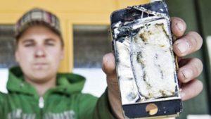 взрыв iPhone