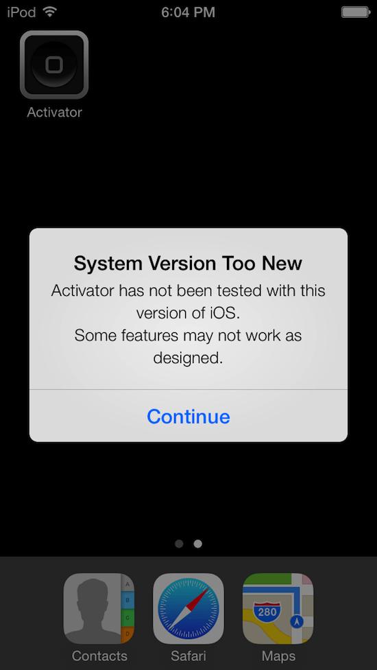 iOS 7 взломана