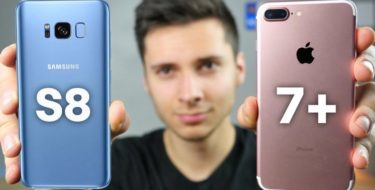 Samsung Galaxy S8 лучше iPhone 7