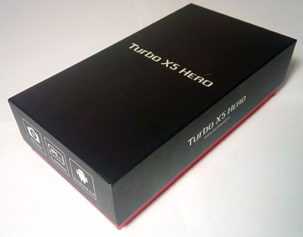 Коробка с Turbo X5 Hero