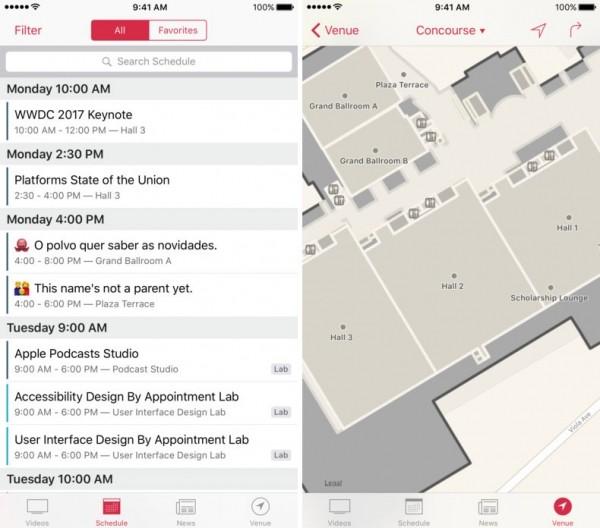 приложение WWDC
