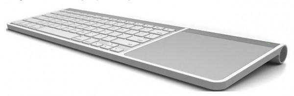 клавиатура и трекпад вместе