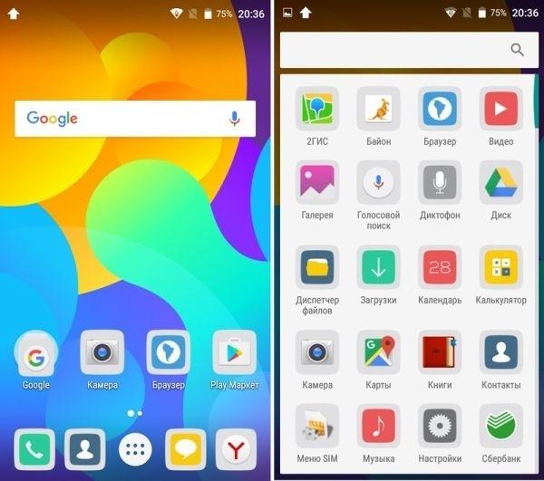 ОС Google Android