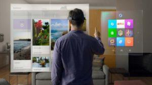 новое устройство добавленной реальности от Microsoft