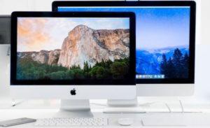 яблочные моноблочные компьютеры