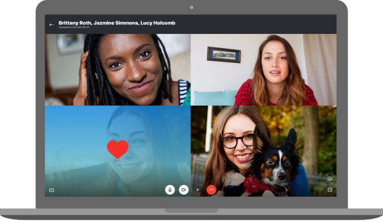 Настольный Skype