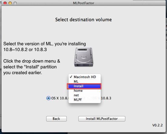 Установка OS X 10.8.4