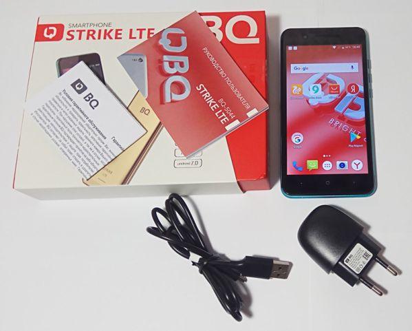 Комплектация BQ Strike LTE