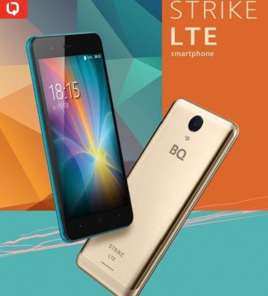Смартфон BQ Strike LTE