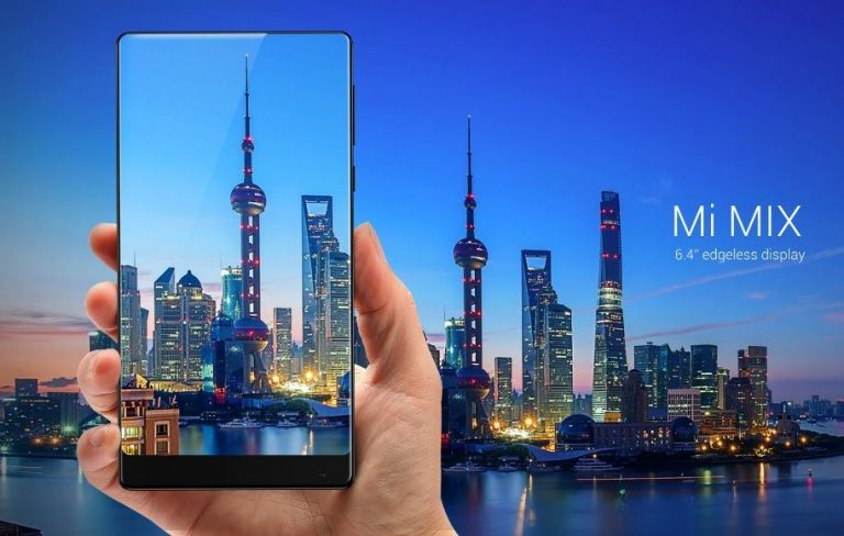 Xiaomi Mi MIX 2s с «вырезом» как у iPhone X