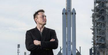 Генеральный директор SpaceX Илон Маск