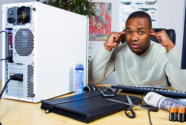Как уменьшить шум вентиляторов компьютера